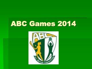 ABC Games 2014