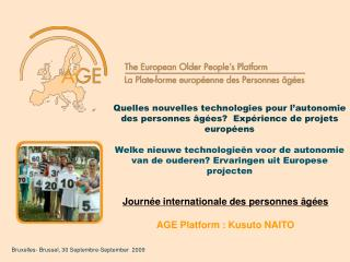 Bruxelles- Brussel, 30 Septembre-September  2009