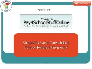The innovative payment  website for parents and schools