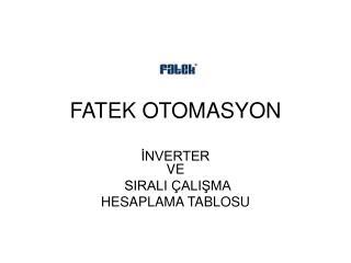 FATEK OTOMASYON
