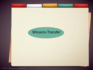 Wissens-Transfer