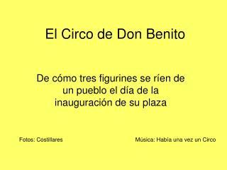 El Circo de Don Benito