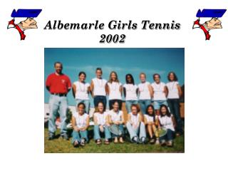 Albemarle Girls Tennis  2002