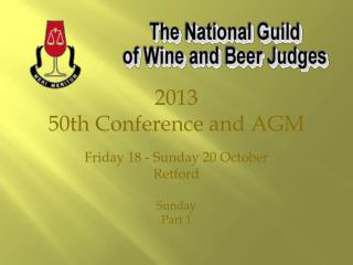 2013 50th Conference and AGM