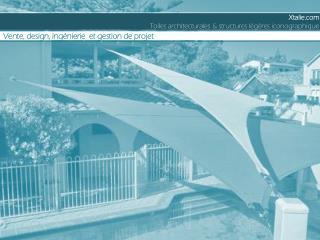 Xtalie     Toiles architecturales & structures légères iconographique