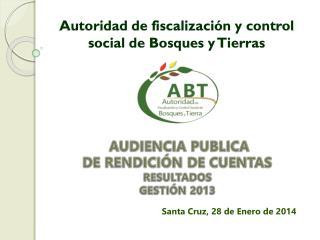 Autoridad de fiscalización y control social de Bosques y Tierras