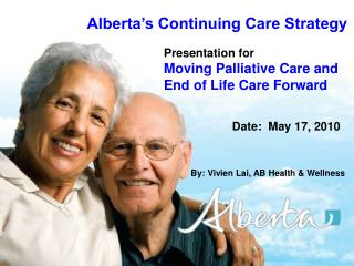 Alberta's Continuing Care Strategy