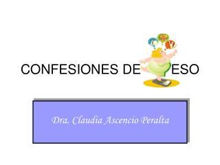 CONFESIONES DE        ESO