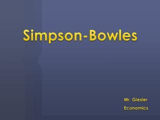 Simpson-Bowles