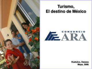 Turismo, El destino de M�xico