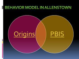 Behavior Model in Allenstown