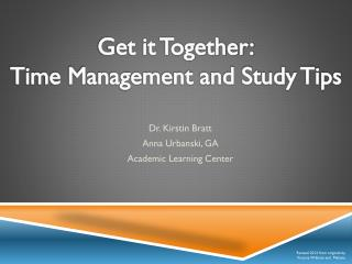 Dr. Kirstin Bratt Anna Urbanski, GA Academic Learning Center