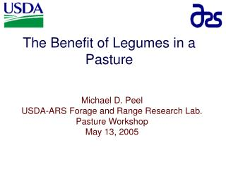 The Benefit of Legumes in a Pasture