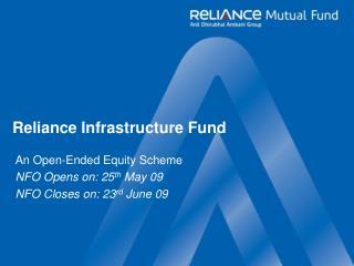 Reliance Infrastructure Fund