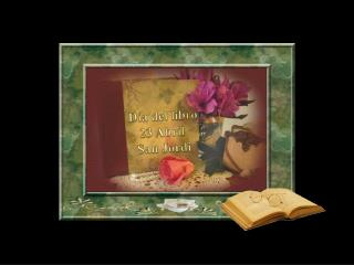 Día del libro 23 Abril  San Jordi