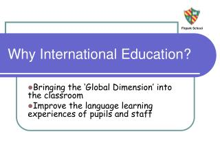 Why International Education?