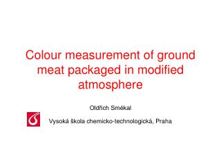 Colour measurement of ground meat packaged in modified atmosphere