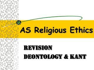 AS Religious Ethics