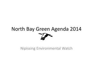 North Bay Green Agenda 2014