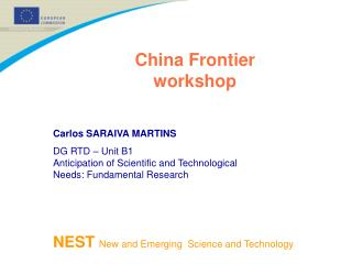 China Frontier workshop