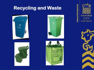 Recycling and Waste