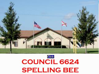 COUNCIL 6624 SPELLING BEE