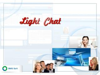 Light Chat  -  Chat Software for Online Communication with Website  Visitors
