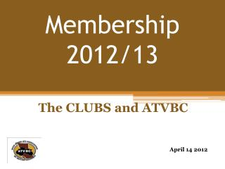 Membership 2012/13