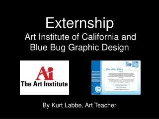 Externship   Art Institute of California and Blue Bug Graphic Design