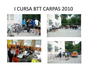 I CURSA BTT CARPAS 2010