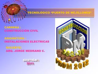 """TECNOLÓGICO """"PUERTO DE MEJILLONES"""""""