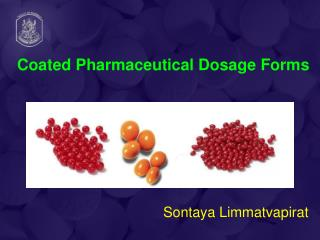 Coated Pharmaceutical Dosage Forms