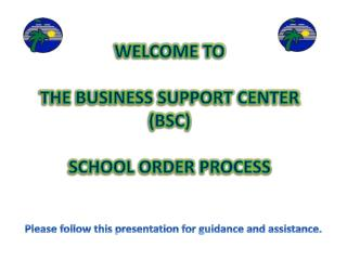 Please follow this presentation for guidance and assistance.