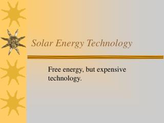 Solar Energy Technology