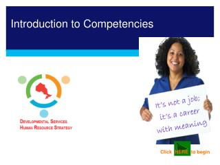Introduction to Competencies