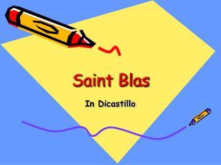 Saint Blas