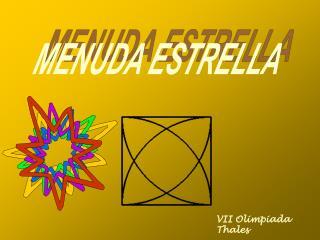 MENUDA ESTRELLA