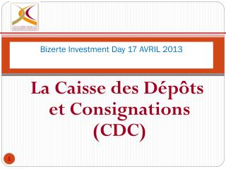 Bizerte  Investment  Day 17 AVRIL 2013                            7777777