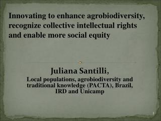 Juliana Santilli,