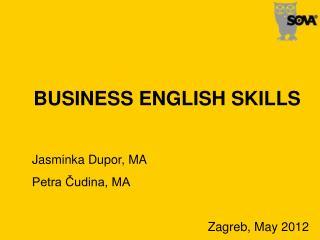 BUSINESS ENGLISH SKILLS