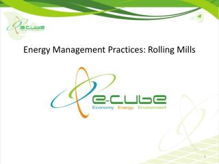 Energy Management Practices: Rolling Mills