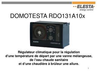 DOMOTESTA RDO131A10x