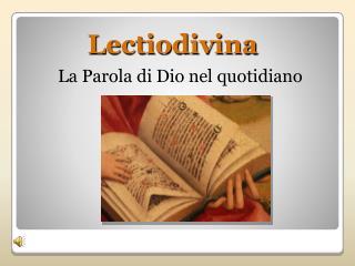 Lectiodivina