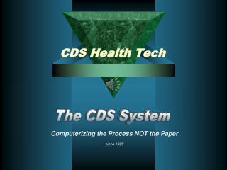 CDS Health Tech