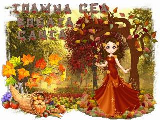 Sărutată de lumină Frunza-n crâng a-ngălbenit Şi acolo printre frunze Brânduşele s-au ivit.