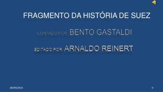 FRAGMENTO DA HISTÓRIA DE SUEZ