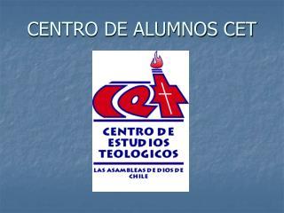 CENTRO DE ALUMNOS CET