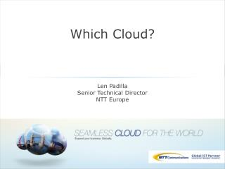 Which Cloud?