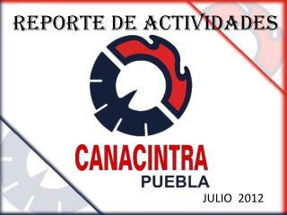 REPORTE DE Actividades