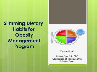 Slimming  Dietary Habits  for  Obesity Management Program